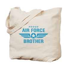 Proud Air Force Brother W Tote Bag