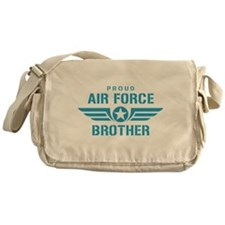 Proud Air Force Brother W Messenger Bag