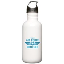 Proud Air Force Brother W Water Bottle