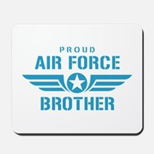 Proud Air Force Brother W Mousepad
