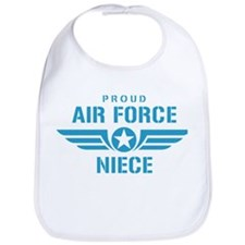 Proud Air Force Niece W Bib