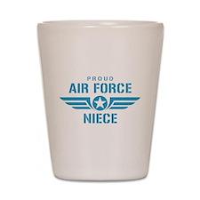 Proud Air Force Niece W Shot Glass