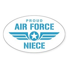 Proud Air Force Niece W Decal