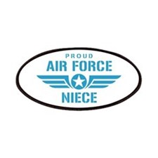 Proud Air Force Niece W Patches