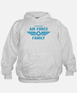 Proud Air Force Family W Hoodie