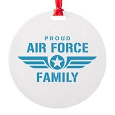 Proud Air Force Family W Ornament