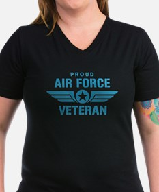 Proud Air Force Veteran W Shirt