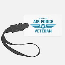Proud Air Force Veteran W Luggage Tag