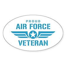 Proud Air Force Veteran W Decal