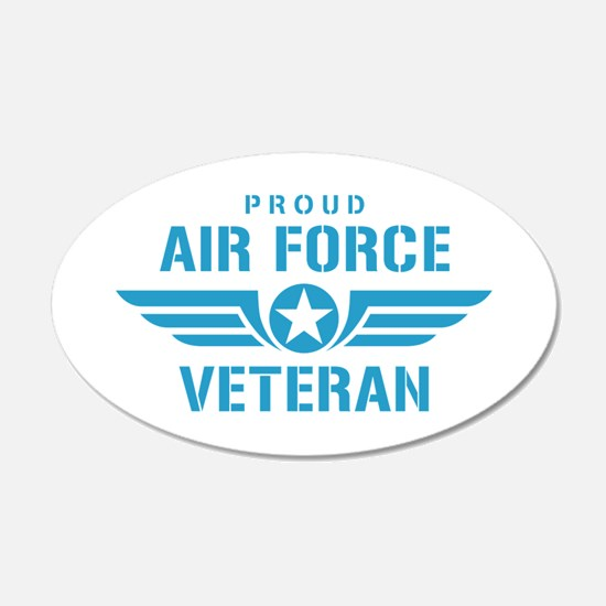 Proud Air Force Veteran W Wall Decal