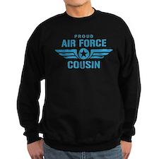 Proud Air Force Cousin W Sweatshirt