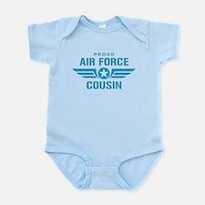Proud Air Force Cousin W Infant Bodysuit