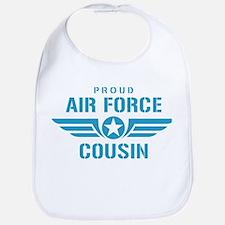 Proud Air Force Cousin W Bib