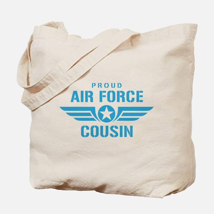 Proud Air Force Cousin W Tote Bag