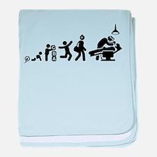 Dentist baby blanket