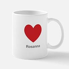 Rosanna Big Heart Mug