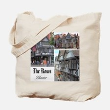 """Chester """"The Rows"""" Tote Bag (Design on both sides)"""