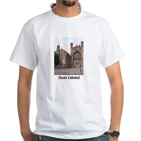 Chester Cathedral White T-Shirt (Child - 4X)