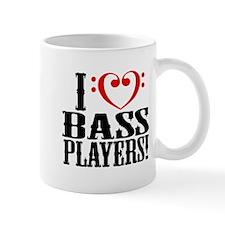 I Love Bass Players Mug