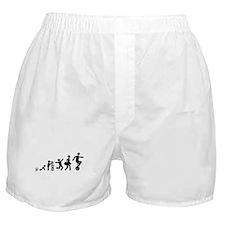 Unicycle Rider Boxer Shorts