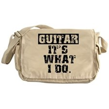 Guitar, It's What I Do Messenger Bag