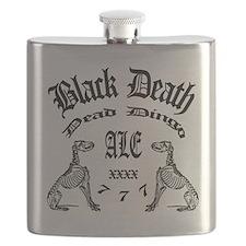 Black Death 777 - Dead Dingo Ale Flask