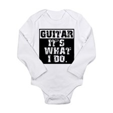 Guitar, It's What I do Body Suit