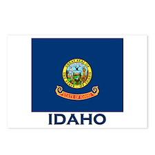 Idaho Flag Merchandise Postcards (Package of 8)
