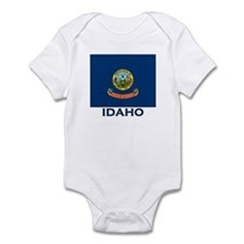 Idaho Flag Merchandise Infant Bodysuit