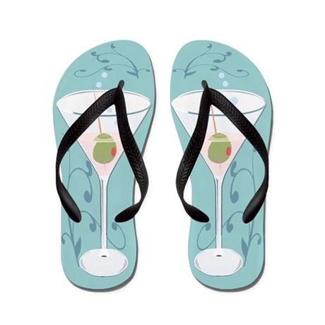Martini Flip Flops