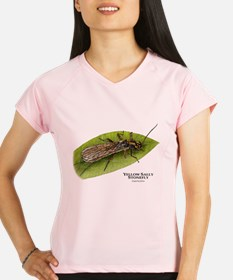 Yellow Sally Stonefly Performance Dry T-Shirt