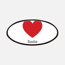 Sadie Big Heart Patches