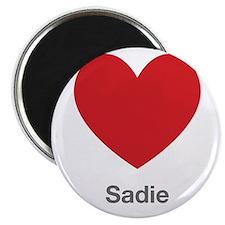"""Sadie Big Heart 2.25"""" Magnet (100 pack)"""