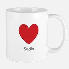 Sadie Big Heart Mug