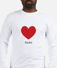 Sadie Big Heart Long Sleeve T-Shirt