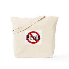 Anti Penis Tote Bag