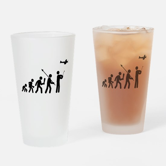 RC Airplane Drinking Glass