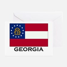 Georgia Flag Stuff Greeting Cards (Pk of 10)