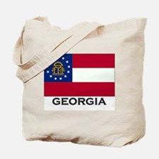Georgia Flag Stuff Tote Bag