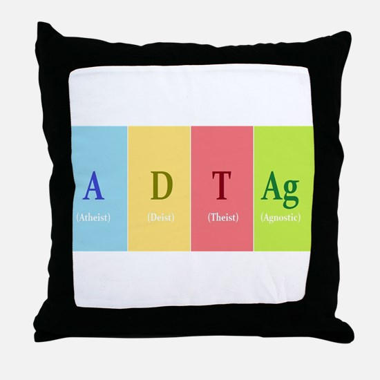 ADTAg Throw Pillow