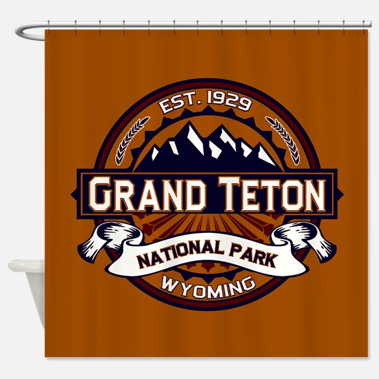 Grand Teton Vibrant Shower Curtain