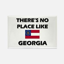 There Is No Place Like Georgia Rectangle Magnet