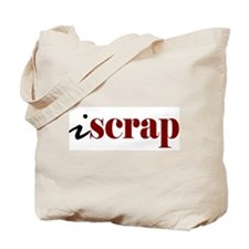 "I ""Scrap"" Tote Bag"