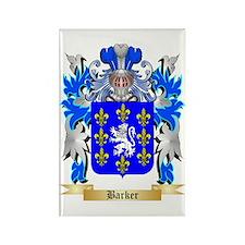 Barker Rectangle Magnet