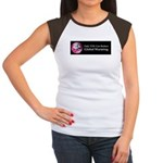 Only YOU Can Reduce Global Wa Women's Cap Sleeve T