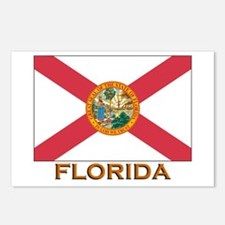 Florida Flag Gear Postcards (Package of 8)