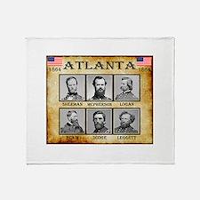 Atlanta - Union Throw Blanket