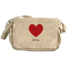 Silvia Big Heart Messenger Bag
