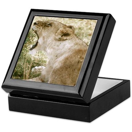 Roaring Lioness Keepsake Box