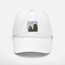 """Stonehenge"" Baseball Baseball Cap (White or Khaki)"